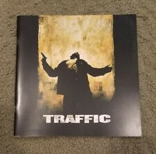Traffic promotional brochure - Michael Douglas, Benicio Del Toro