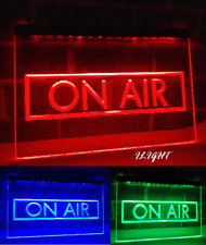 ON AIR RECORDING STUDIO RECORDING TV LED NEON LIGHT SIGN HOME WALL DECOR CRAFTS
