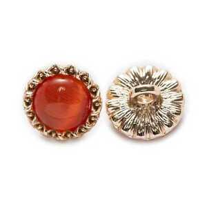 5pcs Sun flower Shank Metal Button for Apparel Repair Sewing Handmade Decor 11mm
