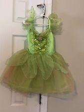 Disney Store Tinkerbell Dress/Costume - Size 4