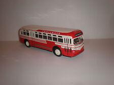 "1/43 GMC CITY BUS GM TDH 3610 ""Trailways"" 1948"