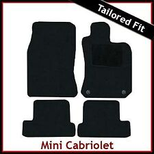 Mini R52 Convertible 2-eyelets 2004-2007 Tailored Fitted Carpet Car Mats BLACK