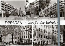 AK DDR Dresden (9) Straße der Befreiung 1984 ungelaufen Ansichtskarte Foto