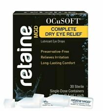 OCuSOFT Retaine MGD Ophthalmic Emulsion Single Use Container, White - 30 Count