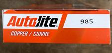 Spark Plug-Copper Resistor Autolite 985 Box of 4 Spark Plugs