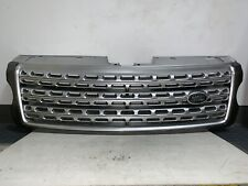 ORIGINAL LAND ROVER RANGE ROVER MAIN FRONT GRILLE GRILLE SILVER 2013 - 2017