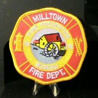 Company Closed:  Milltown, New Jersey Fire Dept. Patch