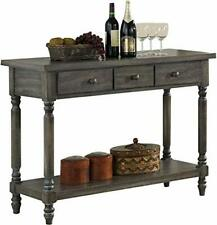 acme Wallace Server, Weathered Gray Transitional/Weathered Gray/