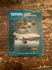 Chilton Toyota Camry 1983-92 Repair Manual