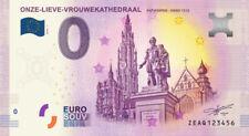 Billet Touristique 0 Euro --- Antwerpen, Onze Lieve Vrouwekathedraal - 2018-1