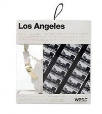 WeSC Premium White Los Angeles Maraca Headphones Jason Lee B405731001 LA NIB