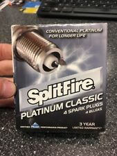 Lot of 4 Splitfire Platinum PP160E Spark Plugs Brand New in box