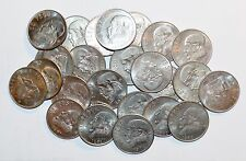 1970 - 1983 MEXICO UNSEARCHED lot UN PESO world large 5 UNCIRCULATED COINS