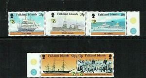 Falkland Islands: 1999, Australia 99 Stamp Expo, Maritime History,  MNH set
