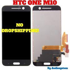 P1 DISPLAY LCD+ TOUCH SCREEN PER HTC ONE M10 NERO VETRO ASSEMBLATO RICAMBIO