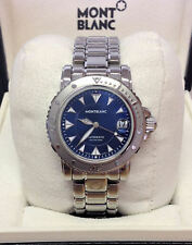 Montblanc Sport Automatic 7148 Blue Dial 38mm - Box & Paperwork 2007