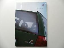 Catalogue / brochure VW la BORA break de 08 / 2000