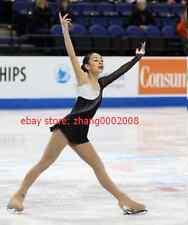 Ice skating dress.white/black Competition Figure Skating /Baton Twirling custome