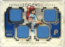 2014 Topps Museum STEVE CARLTON 07/25 Quad Game Used JERSEY PATCH Relics PPQRL