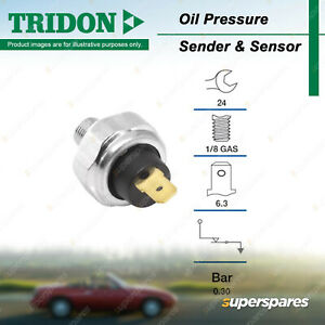 Tridon Oil Pressure Light Switch for Suzuki Swift Vitara X90 Grand Vitara XL7