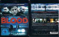 BLOOD --- Blu-ray --- Thriller --- Paul Bettany --- Mark Strong --- Uncut ---