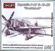 KORA Models 1/72 REPUBLIC P-47D DOUBLEBOLT Resin Conversion Kit