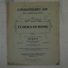 salon piano LONDONDERRY AIR easy arr sydney west , 3pp