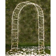 Metal Garden Arch Arbours Floral Wedding Archway Plant Trellis Rose Arches