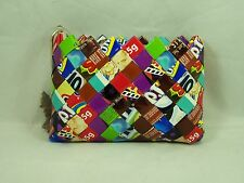 Nahui Ollin Candy Wrapper Change Purse Recycle Angel Keyring