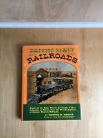 Pacific Slope Railroads 1959 Hard Cover Book By George B. Abdill Pre-Owned