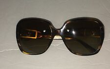 Versace MOD 4242-B 5025/T5 Brown Tortoise & Gold Polarized Sunglasses