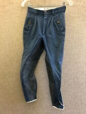 Blue, Kentucky, Ladies 26, full seat real leather breeches