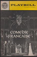 Comedie Francaise Playbill February 1966 Paul-Emile Deiber