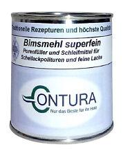 Bimsmehl Schellack- Politur Profi Porenfüller 3,95€/100g Grundierung Schleifmehl