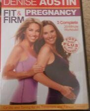 Denise Austin Fit & Firm Pregnancy Workout DVD Fitness Exercise Prenatal Cardio
