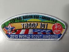 World Scout Jamboree 2015 - JSP Central Region Troop 101