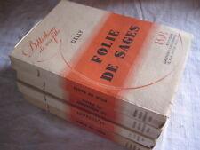 4 Livres Bibliothèque de ma fille Dans les ruines, La vengeance de Ralph, Folie