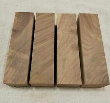 """4 pcs. Walnut Wood Turning Blanks 2"""" x 2"""" x 8"""""""