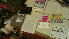 Monopoly Nintendo NES Video Game Complete in Box New