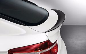 Performance P-Type Rear Trunk Spoiler ABS For BMW X6-Series E71 08-14 Painted