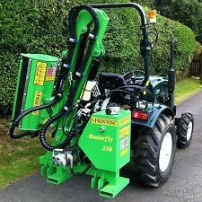 Hedge Cutter - reach / flail mower for tractors (13 hp to 50 hp) by Frontoni