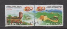 Philippine Stamps 2004 Great Wall of China & Fort Santiago pair set MNH