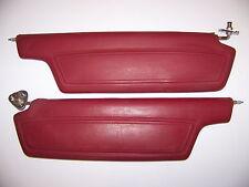 1968 PLYMOUTH FURY RED SUNVISORS OEM PAIR CHRYSLER 300 1967