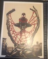 Mondo Spider-Man Miles Morales Phantom City Creative  Variant XX/125