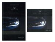 2015 Chrysler 200 User Guide plus Owners Manual DVD Operator Book