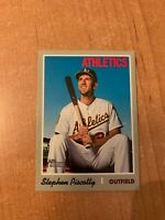 2019 Topps Heritage - Stephen Piscotty - #434 French Text OPC Back Parallel SSP