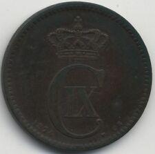 1874 Denmark 5 Ore***Collectors***
