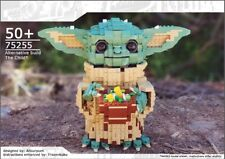 Lego The Child, Baby Yoda Building Instructions ONLY Alternate build for 75255