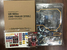 Fansproject Transformers WB-002 Steel Core & WB-002ex Steelcore Trailer & Ruthen