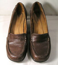 "Women's Shoes by Naturalizer size 6.5M, Brown Leather Upper Pant Shoes, 2"" Heel"